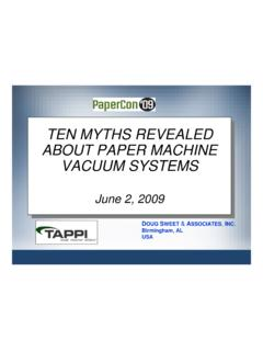TEN MYTHS REVEALED ABOUT PAPER MACHINE …