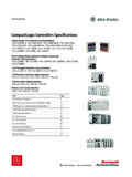 CompactLogix Controllers Specifications Technical Data