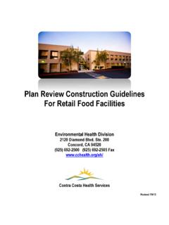 Plan Review Construction Guidelines For Retail …