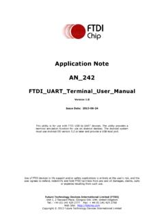 Application Note AN 242 - FTDI