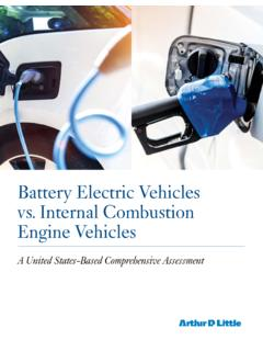 Battery Electric Vehicles vs. Internal Combustion Engine ...