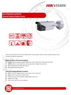 DS-2TD2166-15/25/35 - Hikvision USA