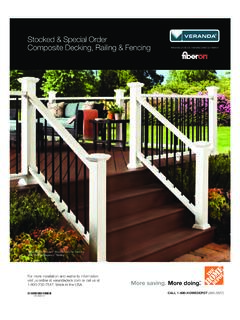 Stocked & Special Order Composite Decking, Railing ...