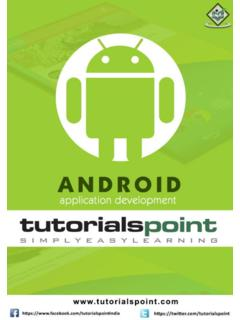 Cover page - Tutorials Point