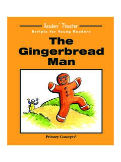 The Gingerbread Man - Primary Concepts