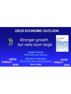 Stronger growth, but risks loom large - oecd.org