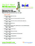 Think you know what millionaires are really like? Take ...