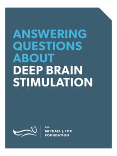ANSWERING QUESTIONS ABOUT DEEP BRAIN ... - …