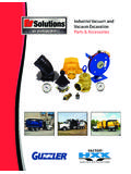 Industrial Vacuum and Vacuum Excavation Parts & …