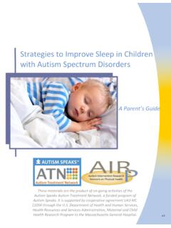 Strategies to Improve Sleep in Children with Autism ...