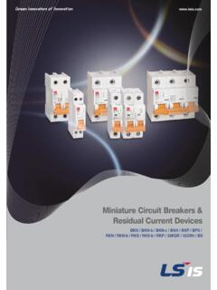 Miniature Circuit Breakers & Residual Current Devices