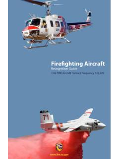 Firefighting Aircraft - California
