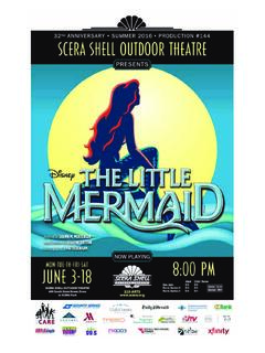 The Little Mermaid - SCERA Center for the Arts