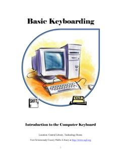 Basic Keyboarding - SCPL