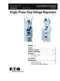 Single-phase step voltage regulators - Cooper …