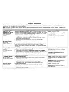 Go Math Assessments - cpb-us-w2.wpmucdn.com / go-math ...