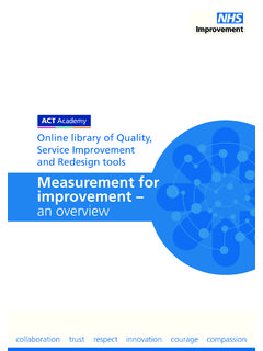 Online library of Quality, Service Improvement and ...