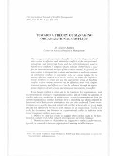TOWARD A THEORY OF MANAGING ORGANIZATIONAL …