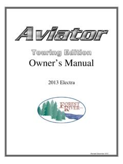 Owner's Manual - forestriverinc.com