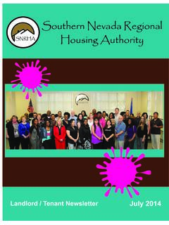 Southern Nevada Regional SNRHA Housing Authority