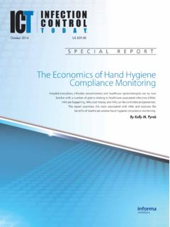 The Economics of Hand Hygiene Compliance Monitoring