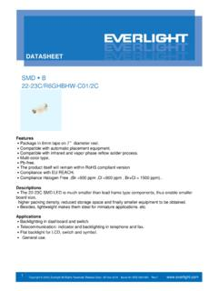 SMD B 22-23C/R6GHBHW-C01/2C - Everlight …