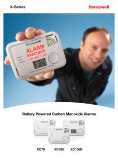 Battery Powered Carbon Monoxide Alarms