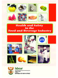 Health and Safety in the Food and Beverage Industry