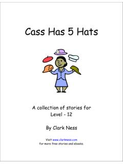 Cass Has 5 Hats - Free Stories and Free eBooks for …