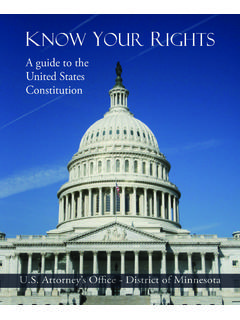 A guide to the United States Constitution - Justice
