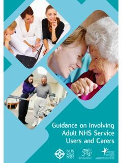 Guidance on Involving Adult NHS Service Users and …
