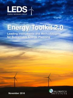 Energy Toolkit 2 - Worldwatch Institute