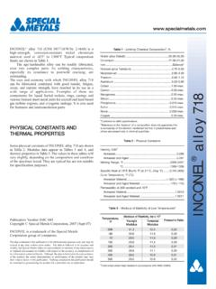 Inconel alloy 718 (Sept 07) Web - Special Metals …
