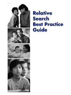 Relative Search Best Practice Guide - NRC4Tribes