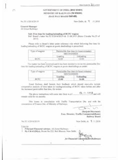 Rates Circular No. - indianrailways.gov.in
