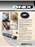 Onix Radiant Tubing Onix Clamps Onix Fittings …