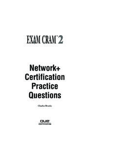 Network+ Certification Practice Questions