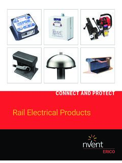 Rail Electrical Products - Pentair Electrical & Fastening ...