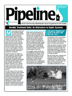 Aerobic Treatment Units: An Alternative to Septic Systems