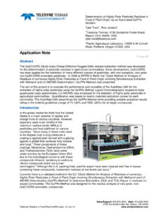 Application Note - Teledyne Tekmar