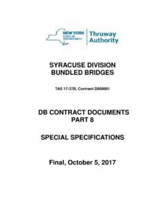 DB CONTRACT DOCUMENTS PART 8 SPECIAL …