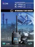 ATEX Intrinsically Safe Radio for Hazardous …