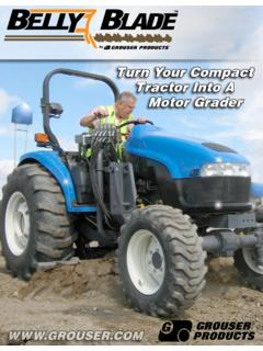 Turn Your Compact Tractor Into A Motor Grader