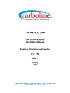 THERMO-LAG 3000 Fire Barrier System Application Manual ...