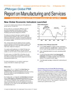 Global PMI Announcement - Institute for Supply …
