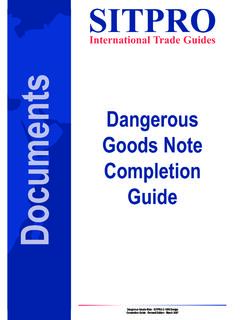 International Trade Guides Documents Guide