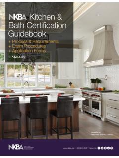 Kitchen & Bath Certi cation Guidebook - media.nkba.org