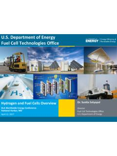 U.S. Department of Energy Fuel Cell Technologies Office