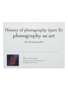 History of photography (part 3): photography as art