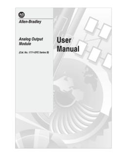 Analog Output Module User Manual - Rockwell …